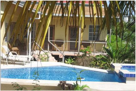 The Private Pool for the Vacation Rentals