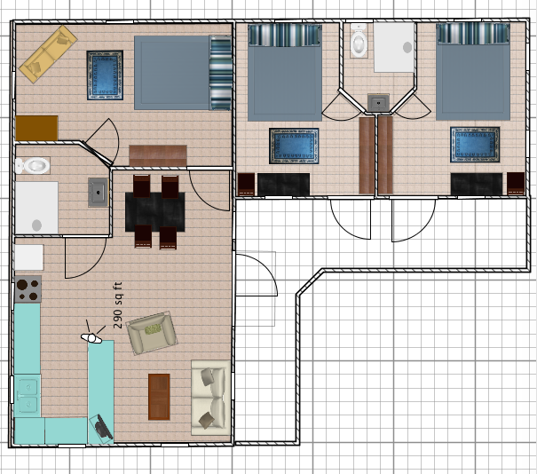 Casita Carinosa Floor Plan